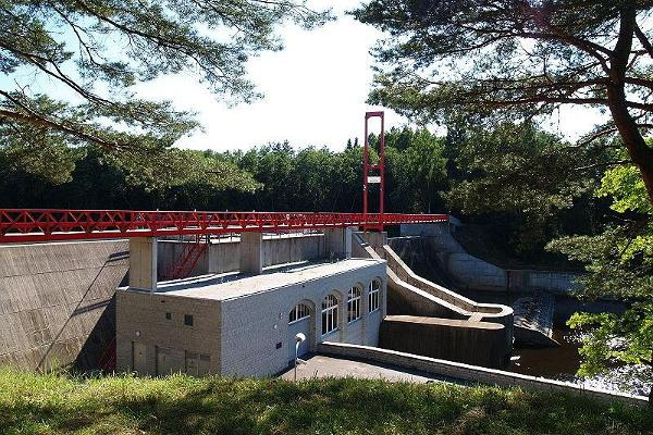 Wasserkraftwerk Linnamäe