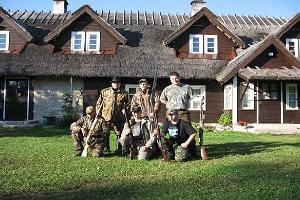 Охотничьи походы на туристическом хуторе Юрна