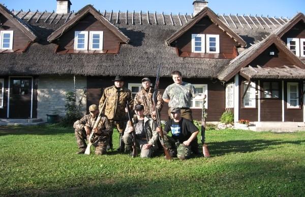 Jurnas lauku māju medību pārgājieni