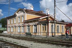 Paldiski raudteejaama peahoone
