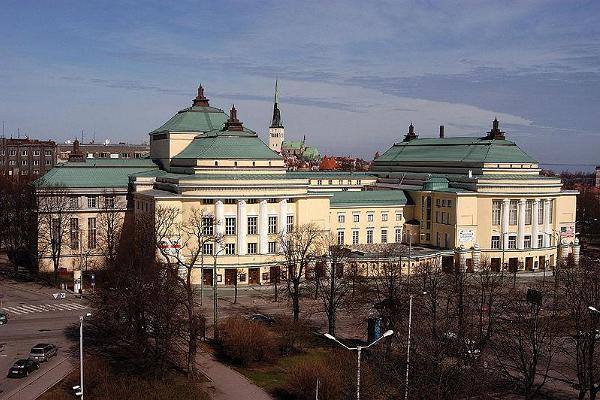 Nationaloperan Estonias byggnad