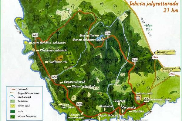 Taheva Cycling Track