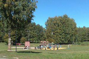 Игровая площадка в долине Валуоя