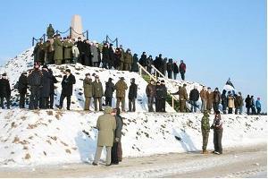 Denkmal für Schlachtort des estnischen Befreiungskrieges bei Paju