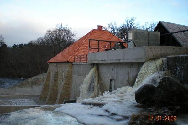 Vattenkraftverket i Keila-Joa