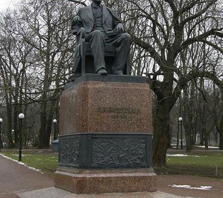 Das F.R.Kreutzwald-Denkmal in Tallinn