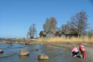 Altja fishing village