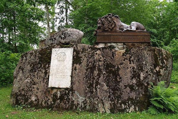 Kindral von Anrepi mälestusmärk Kärstna Kabelimäel