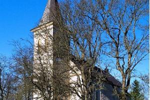 Die Kirche in Hanila