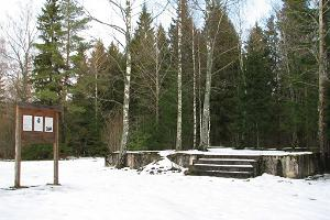 Johan Pitkan kotitilan paikka