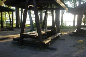 Озеро Каруярв и пляж
