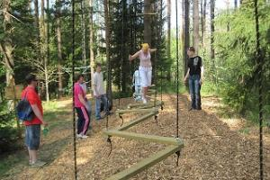 Abenteuerpark im Dorf Kratiküla