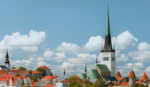Oleviste kiriku torn ja vaateplatvorm