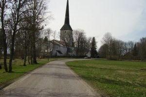 Die Andreas-Kirche in Pilistvere