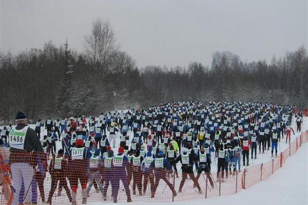 Tartu Maratoni suusarada