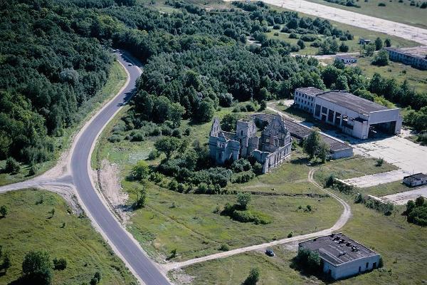 Ungru Manor ruins