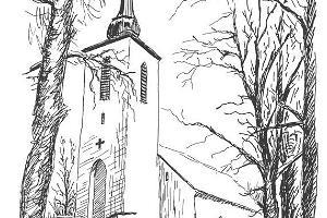 Mariakyrkan i Vigala
