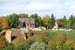 Der Schlosspark von Viljandi