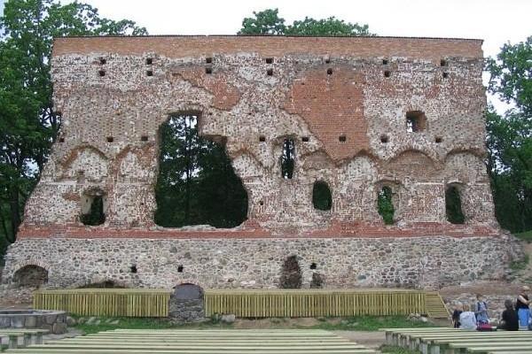 Ruiner av Viljandi ordenfästning