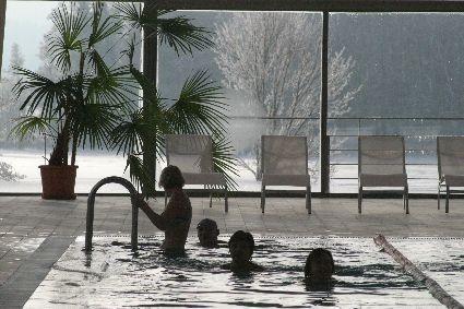 Schwimmhalle im Pühajärve Spa & Ferienzentrum