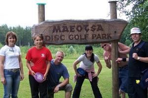 Mäeotsa disc-golfi park