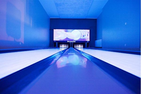 Bowling im Feriendorf Roosta