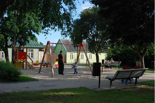 Mihkli lekpark i Hapsal (Haapsalu)