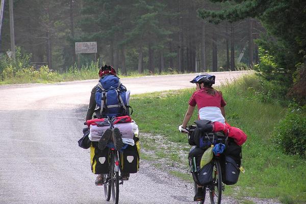 Omal käel jalgrattatuur Hiiumaal Tahkuna poolsaarel