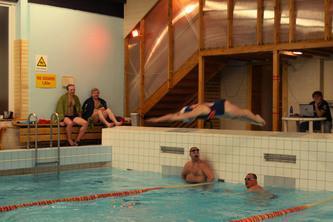 Pool in Türi public sports hall