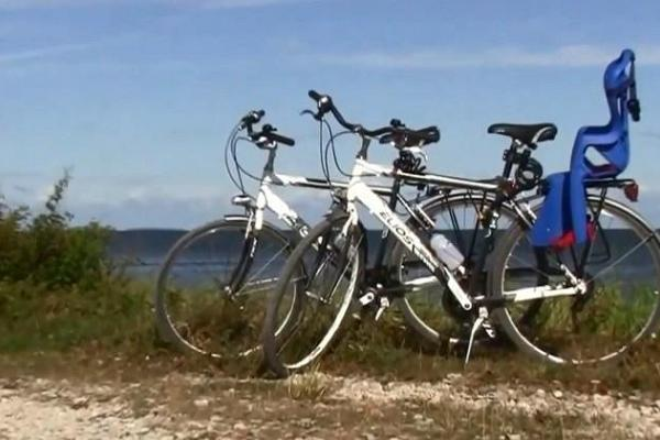 Cykeluthyrning på Kassari semestercenter