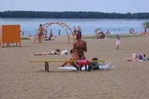 Harku-See und Strand