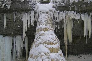 Valastes ūdenskritums - augstākais Igaunijā
