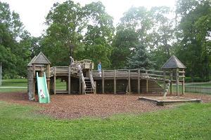 Spielplatz des Volksparks (Rahvaaed) in Rakvere