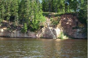Eine hinreißende Raftingtour auf dem Fluss Ahja