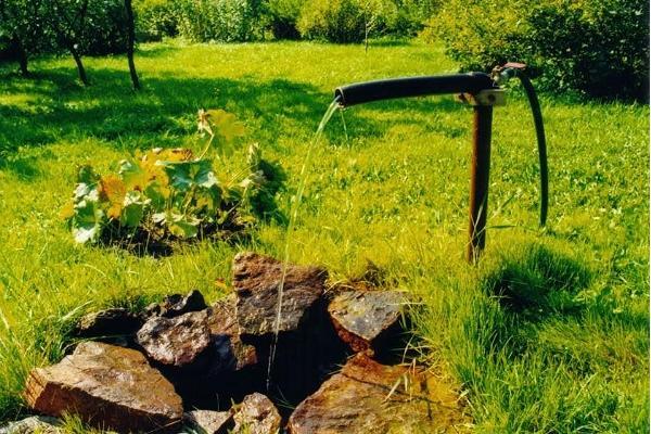 Artesische Quellen in Kärdla