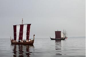 """Vikingaskeppet """"Aimar"""" i Käsmu"""
