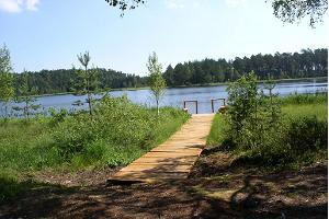 Study trail at Lake Parika Väikejärv