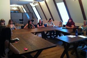 Помещение для семинаров при Ряпинаском Доме творчества