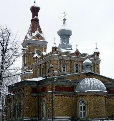 Апостольская Православная церковь Преображения в Пярну