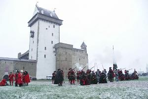 Winter battle - Narva fortress