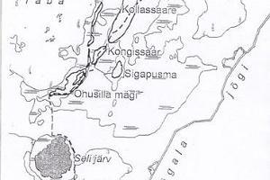 Matkarada üle raba Simisalust Matsimäele