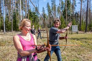 Archery at Kõveri Holiday Centre