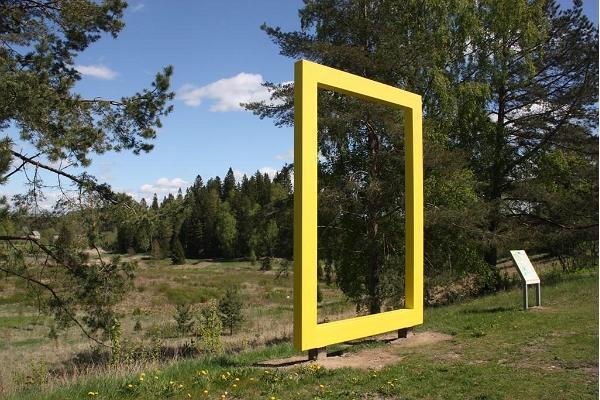National Geographics gula fönster i Otepää