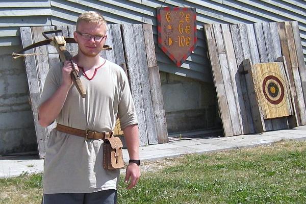 Bogenschießanlage in der Festung von Kuressaare