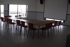 A seminar room in the Räpina harbour pavilion