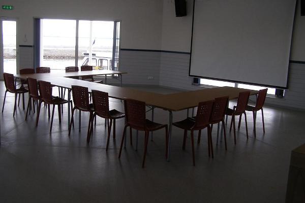 Seminarierum i Räpina hamnpaviljong