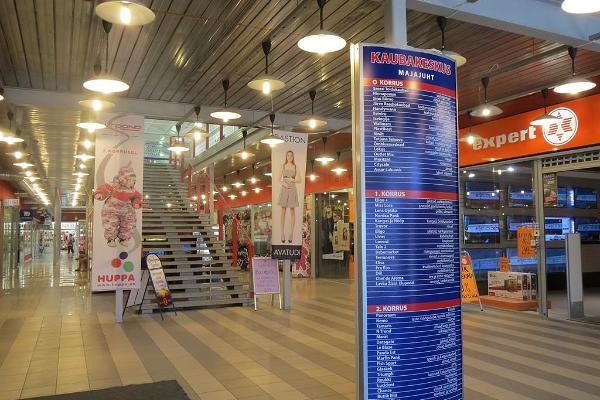 Kaufzentrum in Jõhvi