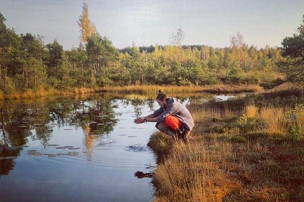 Kanuu.ee bog shoe hike in Rääma bog