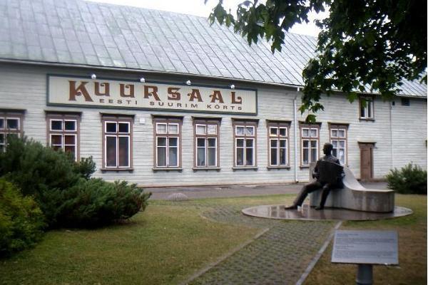 Ресторан «Kuursaal» - самая большая в Эстонии пивная