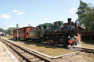 Estnische Museums-Eisenbahn in Lavassaare